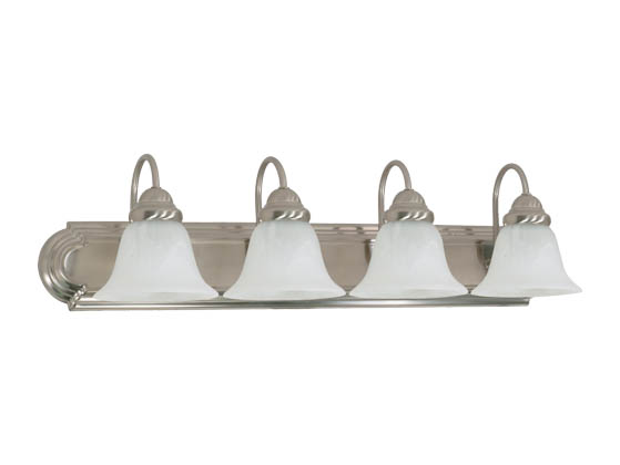 Nuvo Lighting 60-322 Four-light Wall Mounted Vanity Fixture