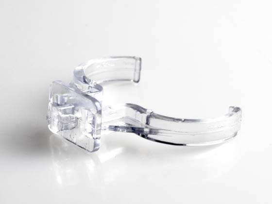 Satco Products, Inc. 80-1604 Satco Clear Plastic Horizontal Clip