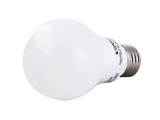 Satco Dimmable 9 5w 3500k A19 Led Bulb Enclosed Rated 9