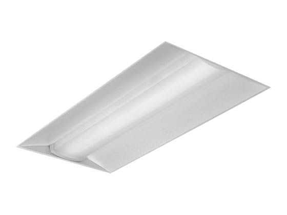 Day-Brite 2EVG54L835-4-D-UNV-DIM EvoGrid 55 Watt 2x4 ft Dimmable LED Recessed Troffer, 3500K