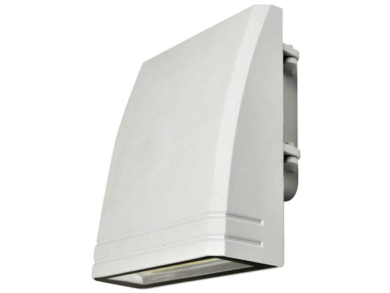 NaturaLED 7460 LED-FXSWP29/40K/WH 175 Watt Equivalent, 29 Watt, 4000K, 120-277 Volt LED Wallpack, White Finish