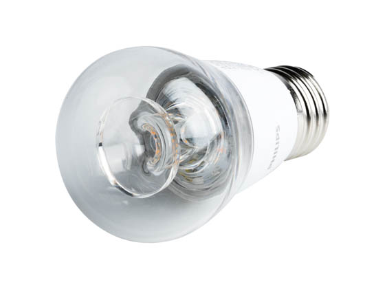 Philips Lighting 462523 5.5A15/LED/827-22/E26/CL/DIM 120V Philips Dimmable 5.5W Warm Glow 2700K-2200K A15 LED Bulb