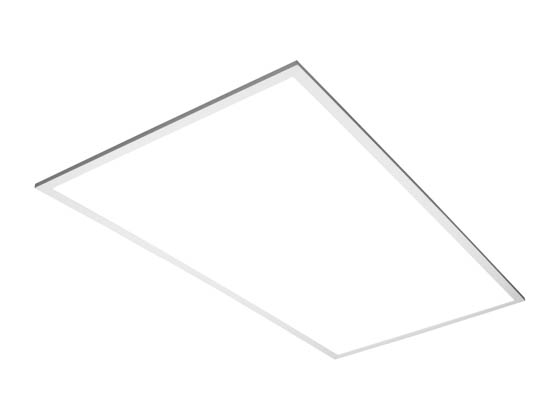 TCP TCPFP4UZD5035K Dimmable 50 Watt 2x4 ft 3500K Flat Panel LED Fixture