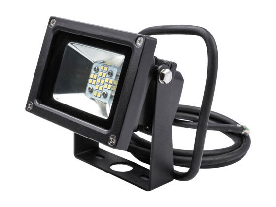 NaturaLED 7514 LED-FXFDL13/50K/BK 13 Watt Small LED Flood Light Fixture, 5000K