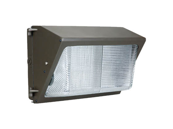NaturaLED 7076-P10036 LED-FXTWP42/40K/DB-P10036 175 Watt Equivalent, 42 Watt Forward Throw LED Wallpack Fixture, 4000K With Photocell