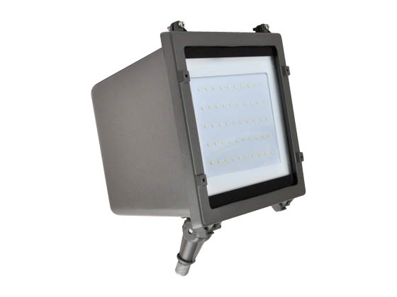 NaturaLED 7180-P10036 LED-FXFDL29/50K/DB-KNC-P10036 29 Watt 5000K LED Flood Light Fixture With Photocell