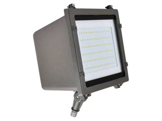 NaturaLED 7182-P10036 LED-FXFDL58/50K/DB-KNC-P10036 58 Watt 5000K LED Flood Light Fixture With Photocell