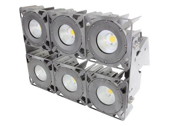 MaxLite 101409 MM630UWW50FDG 629 Watt ModMax High Output LED Flood Fixture