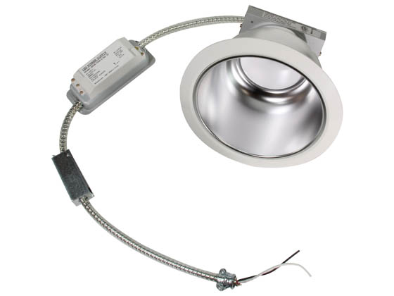 "MaxLite 101647 RR61540W/V2 15 Watt, 1x26 Watt CFL Equivalent, Dimmable, 4000K, 6"" Recessed LED Downlight Retrofit"
