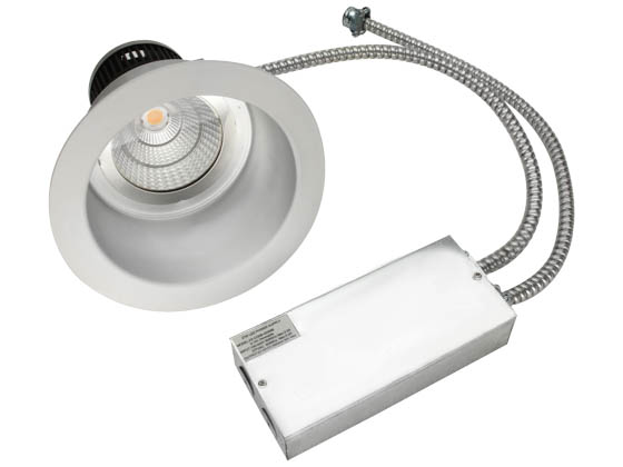 "MaxLite 95375 RRECO84040W 40 Watt, 2x26 Watt CFL Equivalent, 4000K, 8"" LED Recessed Downlight Retrofit"