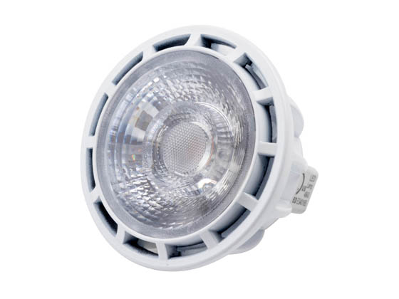 Bulbrite 771306 LED8MR16NF25/50/830/D Dimmable 8W 3000K 25° MR16 LED Bulb, GU5.3 Base, Rated For Enclosed Fixtures