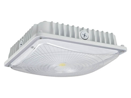 NaturaLED 7499 LED-FXSCM59/40K/WH Dimmable 59 Watt 4000K Slim Canopy LED Fixture
