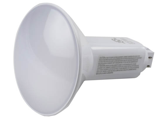 Green Creative 28375 9.5PLV/830/DIR Dimmable 9.5W 4 Pin Vertical 3000k G24q LED Bulb, Uses Existing Ballast