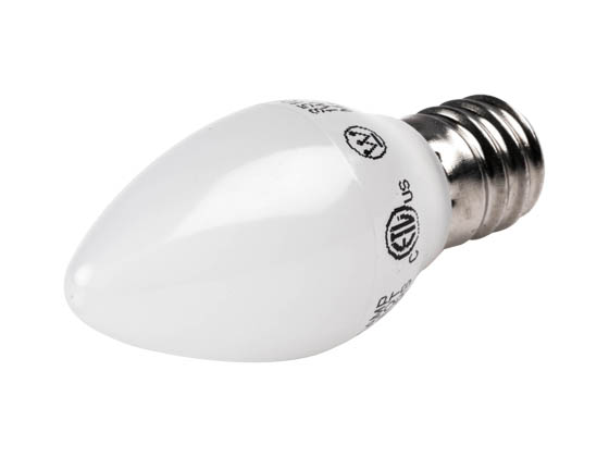 Westinghouse 35109 1C7/LED/F/CB/27 2CD Non-Dimmable Frosted 1W C7 Night Light LED Bulb