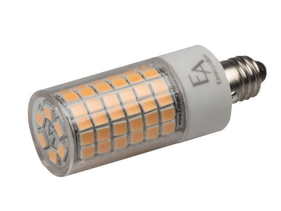 EmeryAllen EA-E11-5.0W-001-2790-D Dimmable 5W 120V 2700K T3 LED Bulb, E11 Base, Enclosed Rated