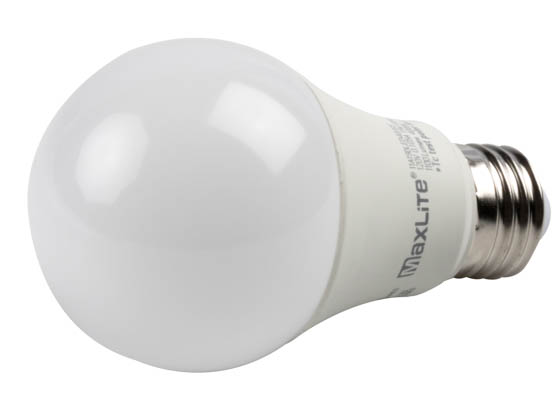 MaxLite 1408351 11A19DLED40/G5 Maxlite Dimmable 11W 4000K A19 LED Bulb