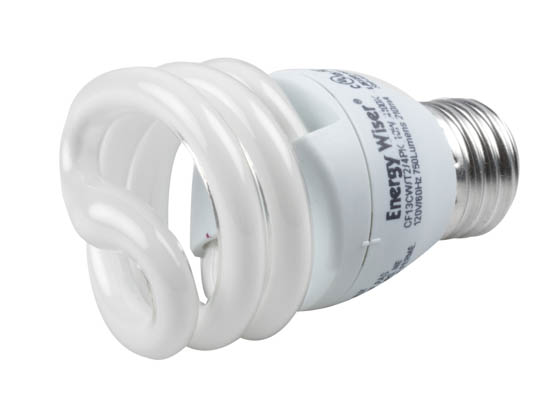 Bulbrite 509418 CF13CW/T2/4PK 13W 120V Cool White CFL Bulb (Pack of 4)