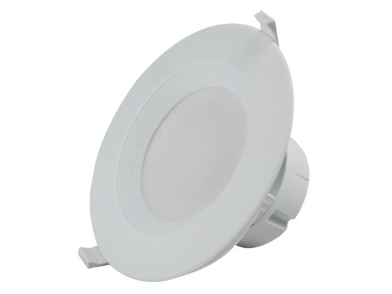 "MaxLite 1408895 RF610ICAT40W Maxlite Dimmable 6"" 9W 4000K LED Downlight, No Recessed Can or J-Box Needed"