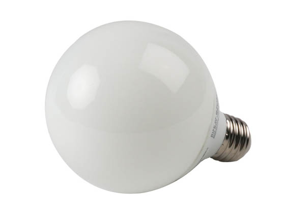 Bulbrite 505019 CF15G25WW 15W G25 Warm White CFL Bulb, E26 Base