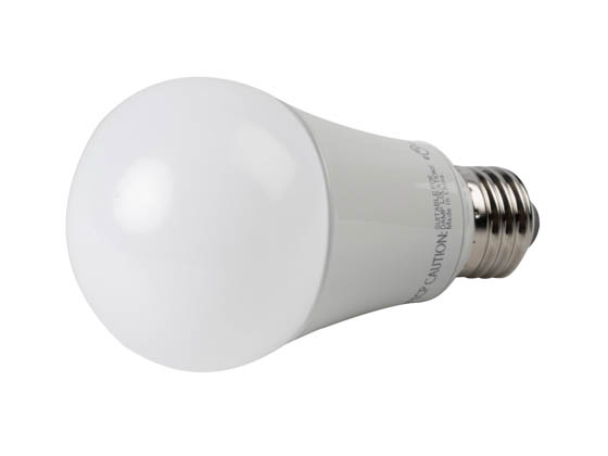 TCP L15A19D2550K Dimmable 15W 5000K A-19 LED Bulb, Enclosed Rated