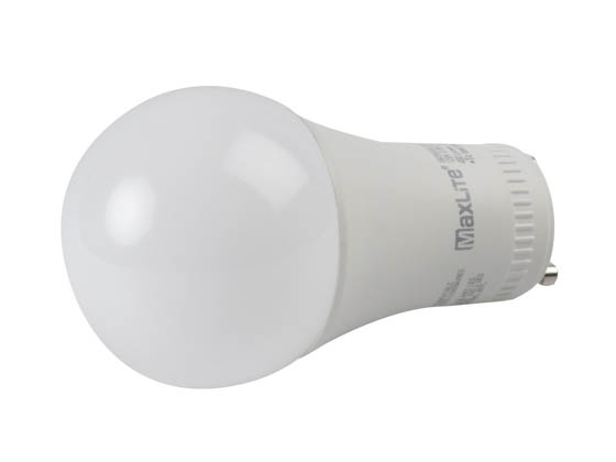 MaxLite 1409407 6A19GUDLED30/G5 Dimmable 6W 3000K A19 LED Bulb, GU24 Base
