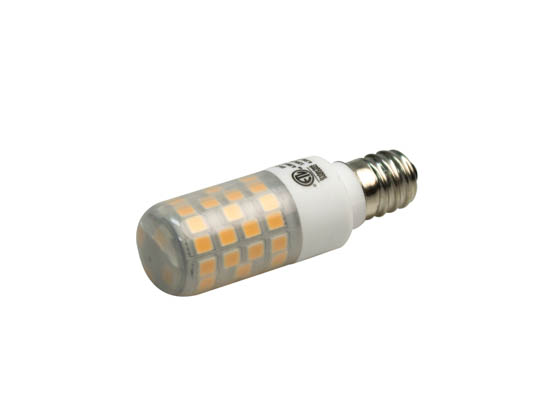 EmeryAllen EA-E12-4.5W-001-279F-D Dimmable 4.5W 120V 2700K T3 LED Bulb, E12 Base, Enclosed Rated