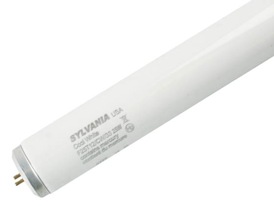 Sylvania 22529 F25T12/CW/33 25W 33in T12 Cool White Fluorescent Appliance Tube
