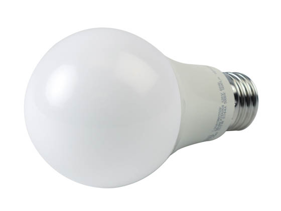 TCP L16A19N1550K Non-Dimmable 15.5 Watt 5000K A19 LED Bulb, Enclosed Rated