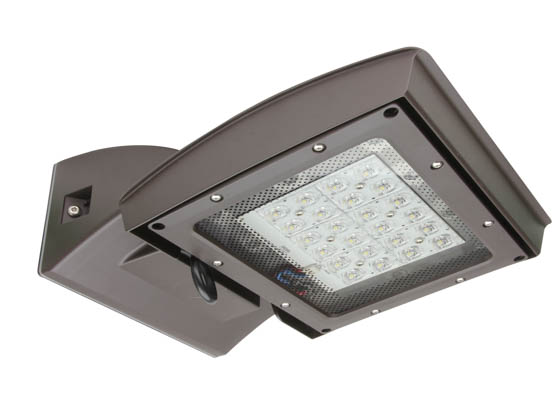 MaxLite 1409473 MP-SM55UT4-50B MPulse 55 Watt 5000K Adjustable Surface Mount LED Fixture, Type IV, Title 24 Compliant
