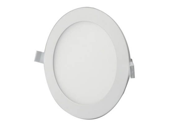 "Bulbrite 773127 LED11JBOXDL/6/840/WHRD/D Dimmable 6"" 11.6W 4000K LED Downlight, No Recessed Can or J-Box Needed"