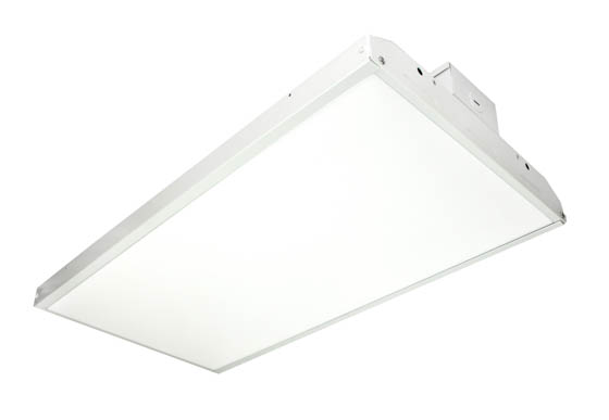 MaxLite 1409258 BLHE-162DU50MS Dimmable 162 Watt 5000K LED High Bay Linear Fixture With Bi-Level Motion Sensor