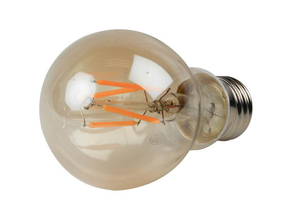 TCP LFA4025AD Dimmable 5W 2500K Vintage Filament A19 LED Bulb