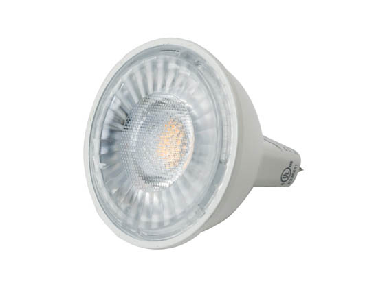 NaturaLED 5937 LED7MR16/50L/FL/830 Dimmable 7W 3000K 40° MR16 LED Bulb, GU5.3 Base