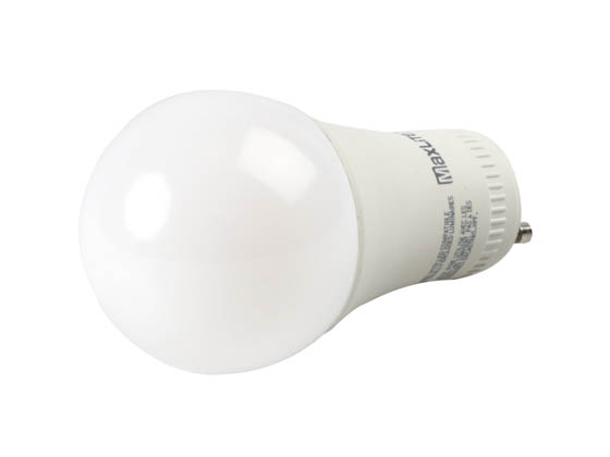 MaxLite 1409245 15A19GUDLED40/G5 Dimmable 15W 4000K A19 LED Bulb, GU24 Base