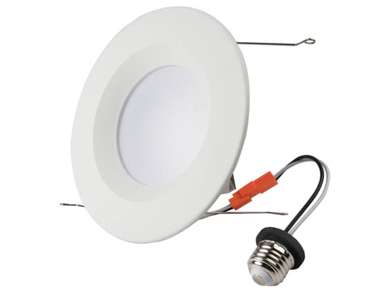 "NaturaLED 7693 LED6RL15-110L950 Dimmable 15 Watt 5""/6"" 5000K Recessed LED Downlight"