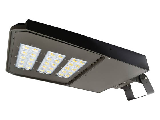 NaturaLED 7637-P10103 LED-FXSAL240/50K/DB/3S Dimmable 750-1000 Watt Equivalent, 240 Watt 5000K LED Area Light Fixture With Swivel Bracket