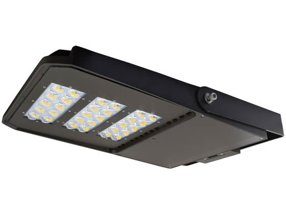 "NaturaLED 7637-P10113 LED-FXSAL240/50K/DB/3S Dimmable 750-1000 Watt Equivalent, 240 Watt 5000K LED Area Light Fixture With 15"" Yoke Mount"