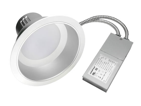 "MaxLite 1408680 RRECO62730W/V2 27 Watt Dimmable, 3000K, 6"" LED Recessed Downlight Retrofit"