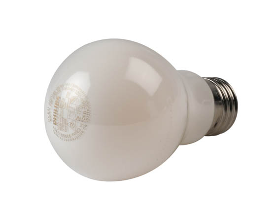 Philips Lighting 470732 7A19/LED/827/E26/FR/GL/ND FB 1PK Philips Non-Dimmable 7W 2700K A19 LED Bulb