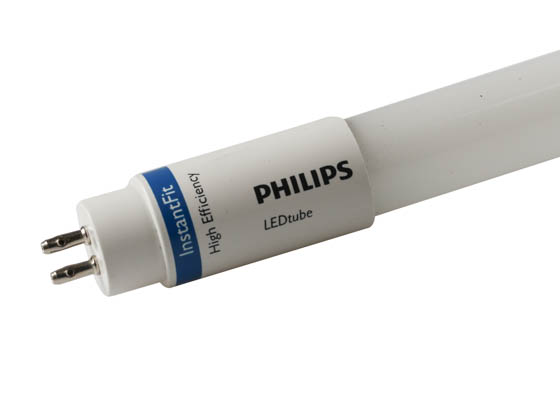 "Philips Lighting 476440 8T5HE/24-850/IF10/G/DIM Philips Dimmable 8W 24"" 5000K T5 LED Bulb, Use With Instant Start Ballast"