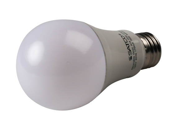 Satco Products, Inc. S29815 15A19/LED/2700K/1600L/120V/D Satco Dimmable 15W 2700K A19 LED Bulb, Enclosed Rated