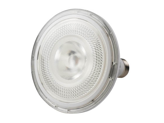 MaxLite 73658 17P38DLED41FL Maxlite Dimmable 17W 4100K 40° PAR38 LED Bulb, Outdoor Rated