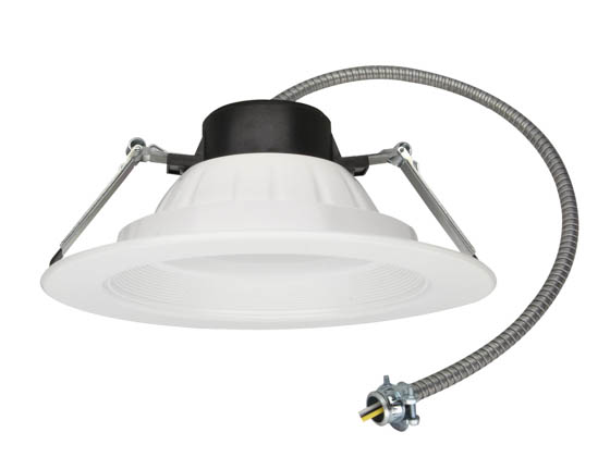 "MaxLite 1410033 RCF81830W 18 Watt, 3000K, 120-277V, 8-10"" LED Recessed Downlight"