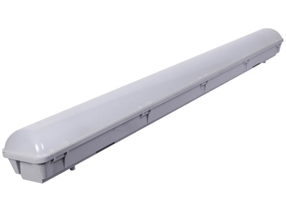 GlobaLux Lighting LVTS-8-68-MVD-850 GlobaLux 68 Watt, 8' Dimmable Vapor Tight LED Fixture, 5000K