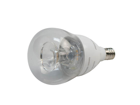 Philips Lighting 463983 5.5A15/LED/827-22/E12/CL/DIM 120V Philips Dimmable 5.5W Warm Glow 2700K-2200K A15 LED Bulb