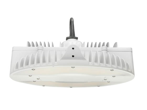 MaxLite 1410222 HP-090UF-40 Dimmable 90 Watt 4000K Round Pendant LED High Bay Fixture