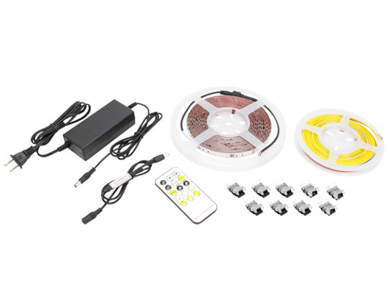 American Lighting HTL-TW-5MKIT Tunable High Output Trulux Tape Light Kit 2700K to 6000K