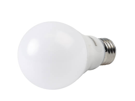 Philips Lighting 479428 5.5A19/PER/827-22/P/E26/WG Philips Dimmable 5.5W Warm Glow 2700K-2200K A-19 LED Bulb, Enclosed Rated