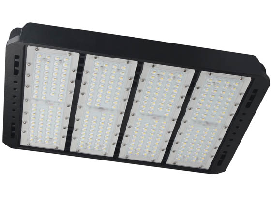 PacLights FALB300-50-LV-T3-SF 1000 Watt Equivalent, 300 Watt 5000K LED Area Light Fixture With Slip Fitter Bracket, Type III