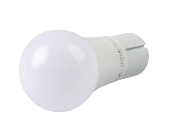 QLS LA19D6030EGU24 Dimmable 9.5W 3000K A19 LED Bulb, GU24 Base, Enclosed Fixture Rated